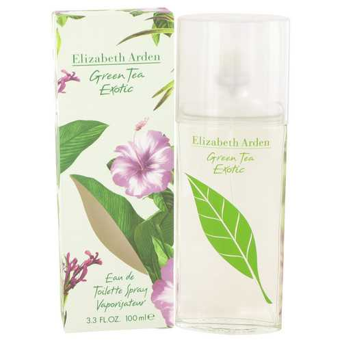 Green Tea Exotic by Elizabeth Arden Eau De Toilette Spray 3.4 oz (Women)