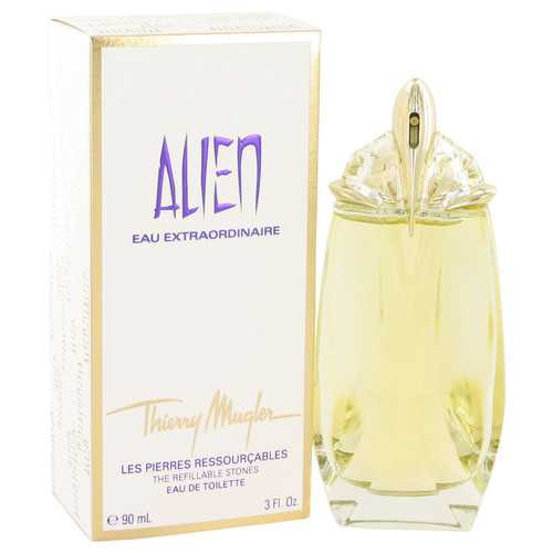 Alien Eau Extraordinaire by Thierry Mugler Eau De Toilette Spray Refillable 3 oz (Women)