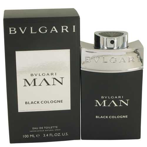 Bvlgari Man Black Cologne by Bvlgari Eau De Toilette Spray 3.4 oz (Men)