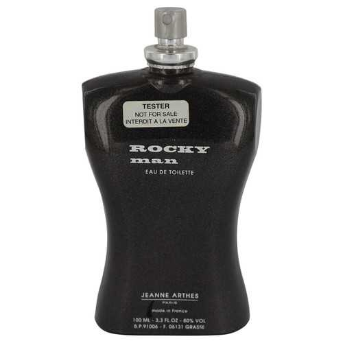 Rocky Man by Jeanne Arthes Eau De Toilette Spray (Tester) 3.4 oz (Men)