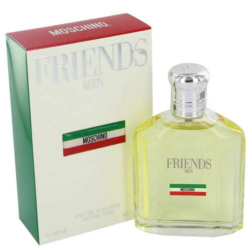 Moschino Friends by Moschino Gift Set -- 4.2 oz Eau De Toilette Spray +1.7 oz After Shave Balm + 3.4 oz Shower Gel (Men)