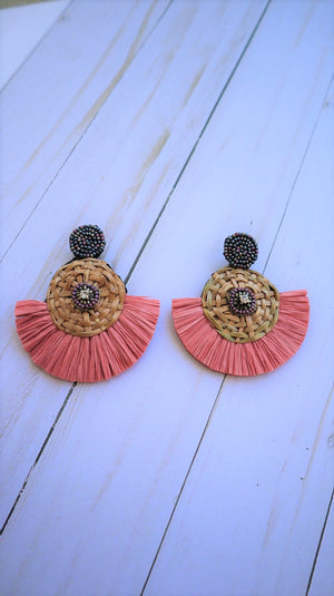 Be Different Earrings Blush
