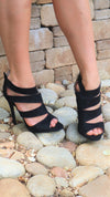 The Cali Heel Black