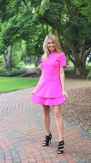 Pretty In Pink Mini Dress