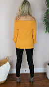 Dreaming Of Fall Sweater Mustard