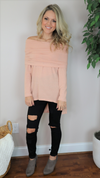 Pretty In Pink Tunic Top Pale Pink