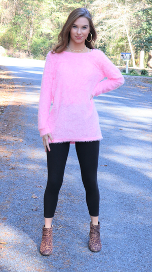 Pink At Heart Sweater Pink