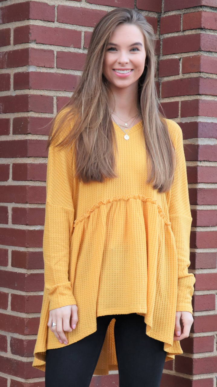 Legging Approved Tunic Mustard Yellow