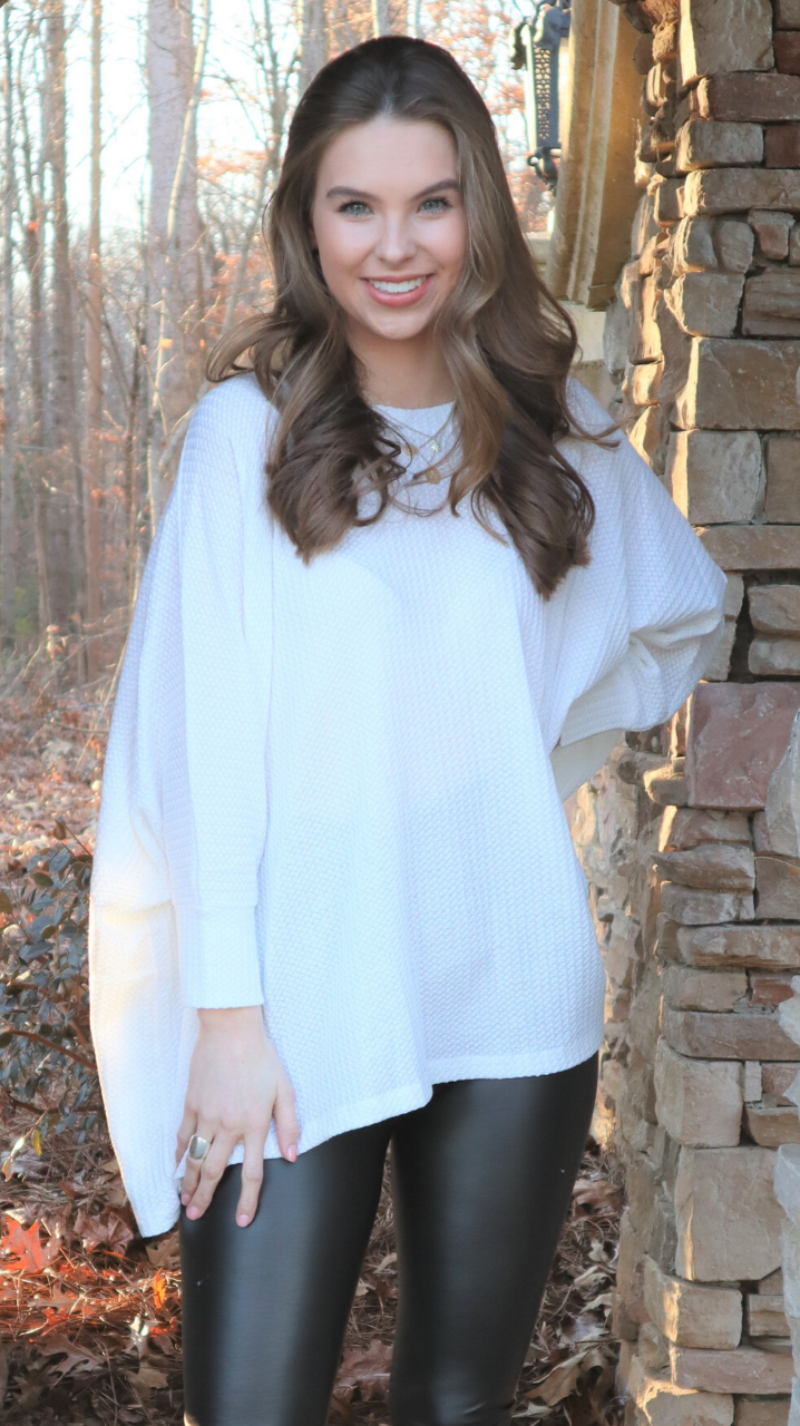 Forever Classic Thermal Tunic Ivory