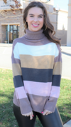 Perfection Is Real Sweater Beige Multi