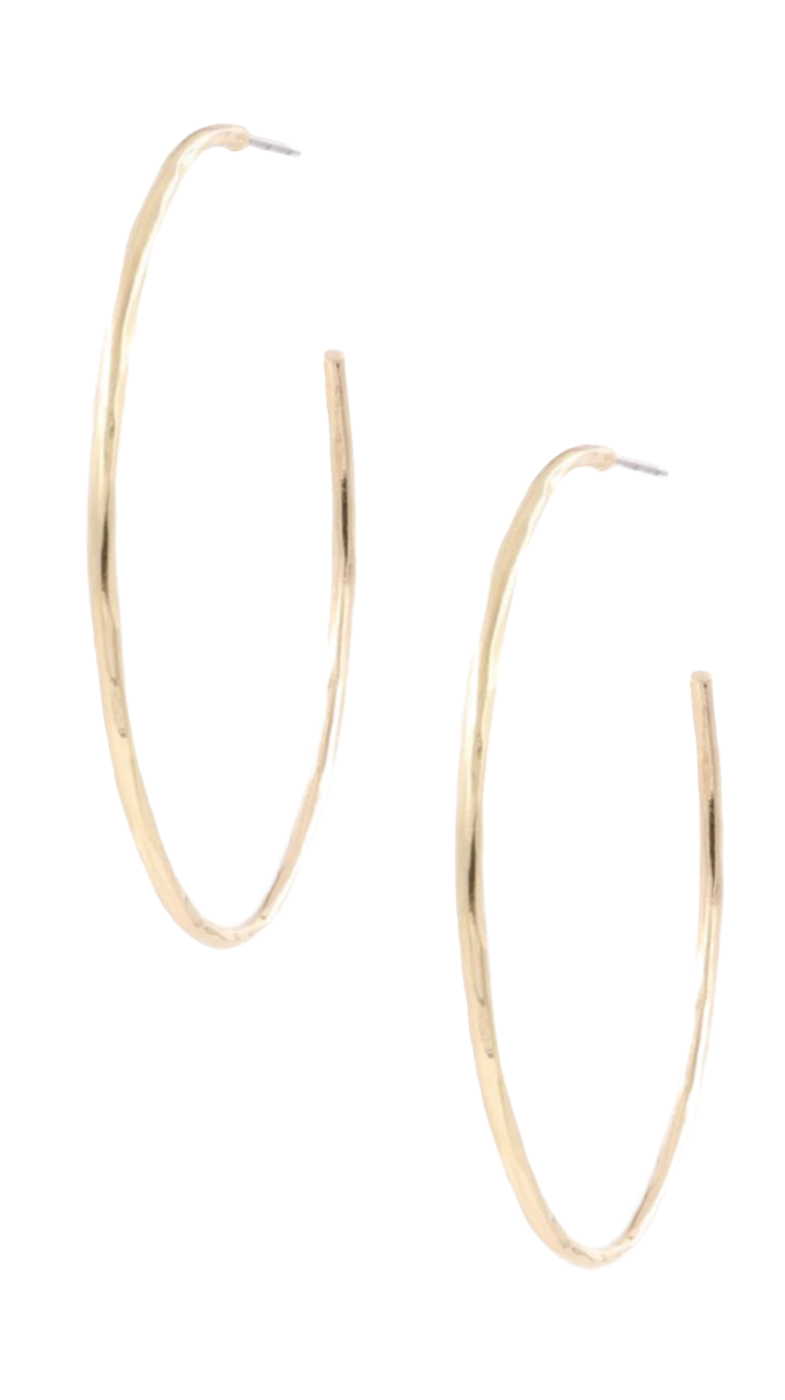 Perfect Hoop Earrings Gold