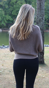 Much Love Slouch Top Mocha