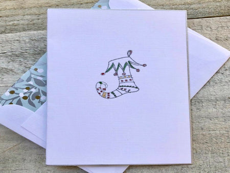 Jingle Stocking Card