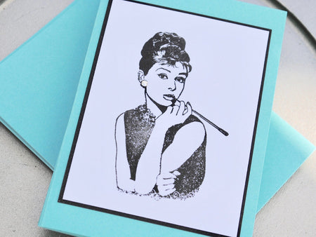 Audrey Hepburn Note Cards