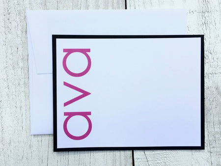 Contemporary Note Cards