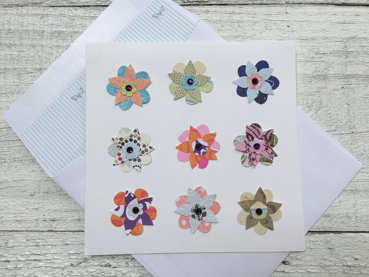 Colorful Floral Note Cards
