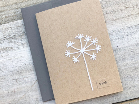 Wish Stationery - Wish Note Card - Wish Card - Dandelion Note Card - Dandelion Stationery - Dandelion Cards - Blank Note Cards -Gift for Her