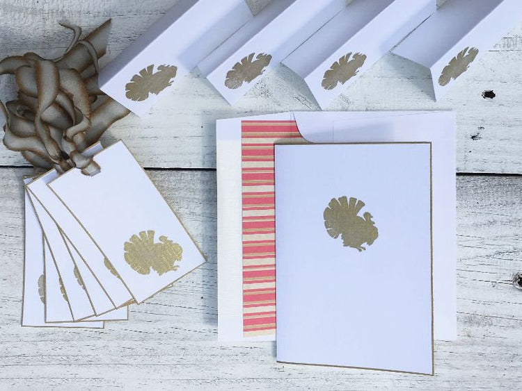 Turkey Stationery - Turkey Note Cards - Turkey Cards - Thanksgiving Cards - Thanksgiving Stationery - Thanksgiving Note Cards - Fall Cards