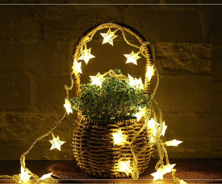 Star fairy lights      FREE SHIPPING