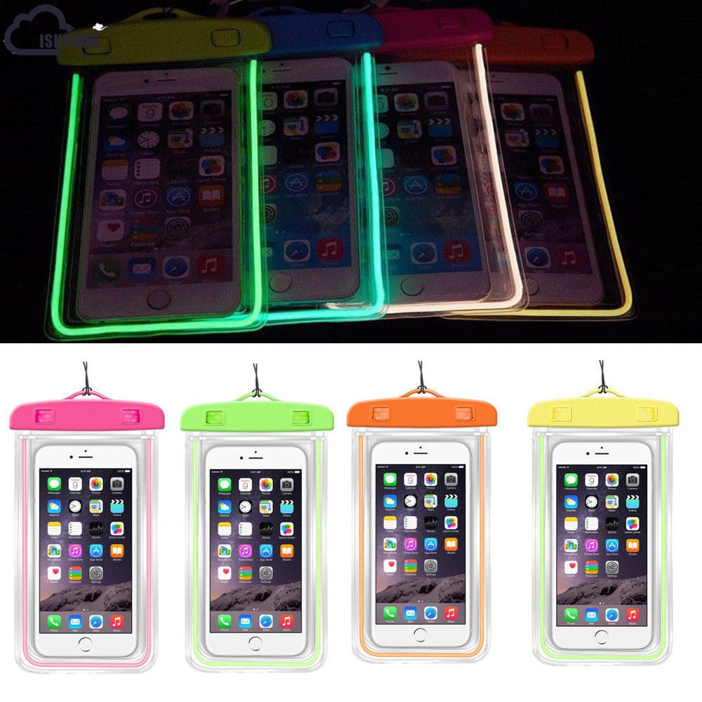 Luminous Waterproof Pouch For Your Phone