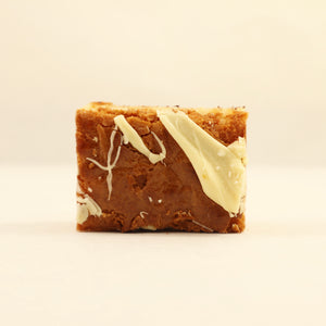 Lemon & White Chocolate Brownie Bite