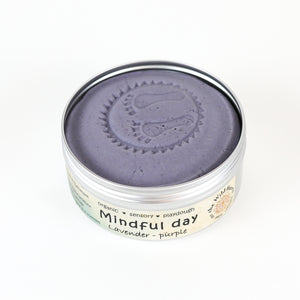 Mindful Day JUMBO - lavender playdough - øko modellervoks