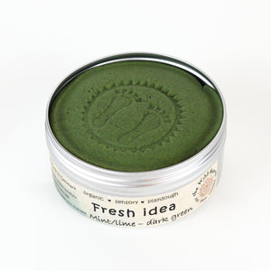 Fresh Idea JUMBO - mint playdough - øko modellervoks