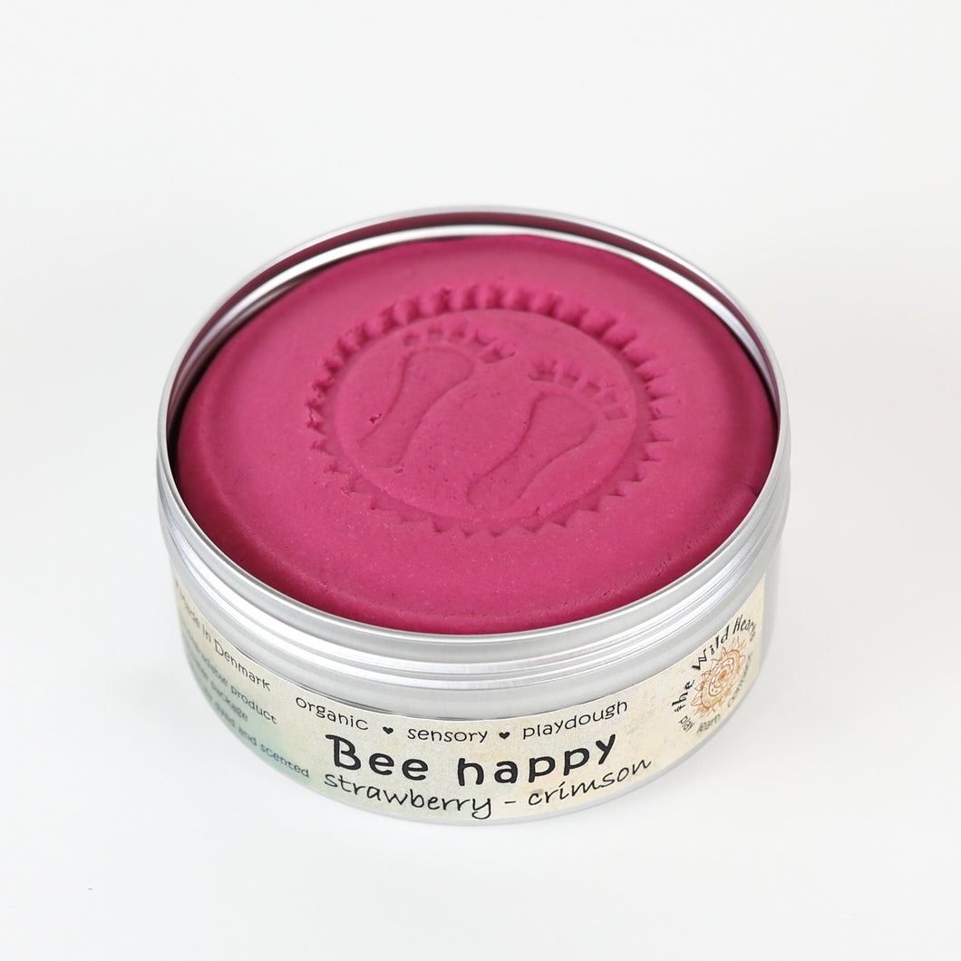 Bee Happy - strawberry