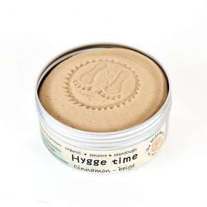 Hygge Time JUMBO - cinnamon playdough - øko modellervoks