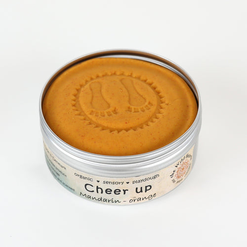 Cheer Up JUMBO - mandarin playdough - øko modellervoks