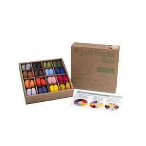Crayons Rocks Crayons 64 pcs. of 16 colors in a Box