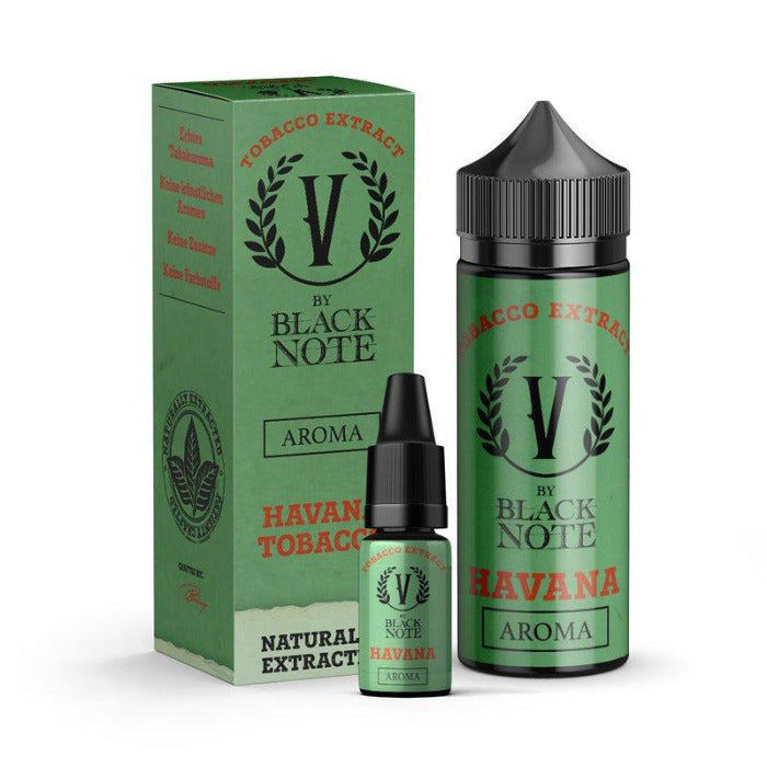 V by Black Note - Havana - 10ml Aroma (Bottle in Bottle)