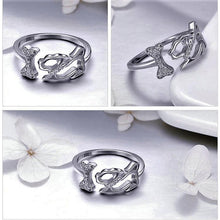 Load image into Gallery viewer, Sterling Silver Adjustable Ring