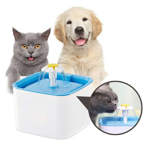 Pet Fountain for Filtered Circulating Water