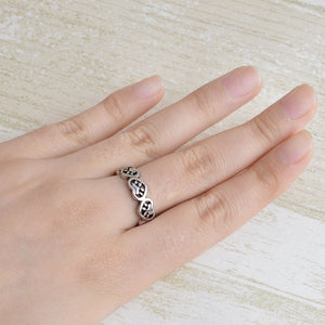 Adorable Heart Paw Ring