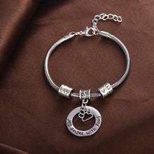 "Load image into Gallery viewer, ""My Angle with Paws"" Charm Bracelet"