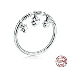 Load image into Gallery viewer, Sterling Silver Dangle Paws Ring