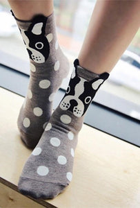 Women's Fashion Animal Polka Dot Socks