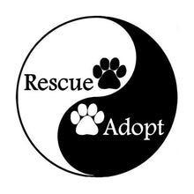 Load image into Gallery viewer, Adopt/Rescue Vinyl Sticker