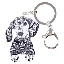 Load image into Gallery viewer, Dachshund Dog Key Chain