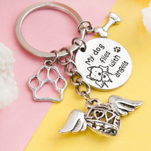 Load image into Gallery viewer, Memorial Dog or Cat Keychain