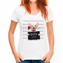 "Load image into Gallery viewer, Woman's/Youth Tee ""Guilty of Love"""
