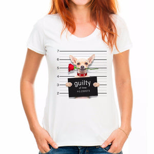 "Woman's/Youth Tee ""Guilty of Love"""