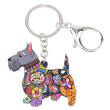 Load image into Gallery viewer, Scottish Terrier Key Chain