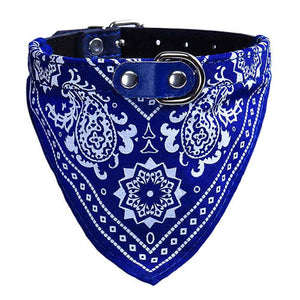 Adjustable Dog Bandana Collar