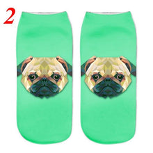 Load image into Gallery viewer, Women's Fashion Socks with Cute Dog Print in 3D