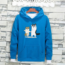 Load image into Gallery viewer, Hoodie with Dancing Pets