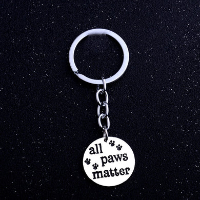 Pet Charm Keychain Key
