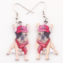 Load image into Gallery viewer, French Bulldog Earrings