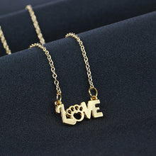 Load image into Gallery viewer, We Love Paws Necklace